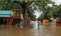 Castanuela inundaciones