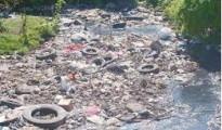 basura en rio