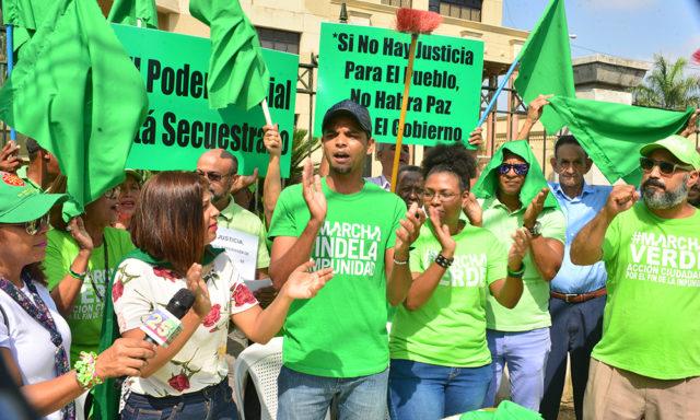 marcha verde protesta en santiago