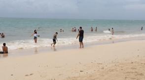 turistas desafian