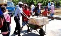 haitianos y mercancias