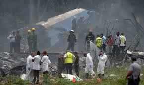 avion estrellado en la habana