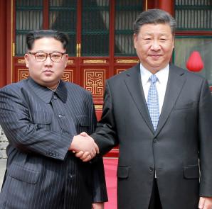 Xi Jinping y kim jon un
