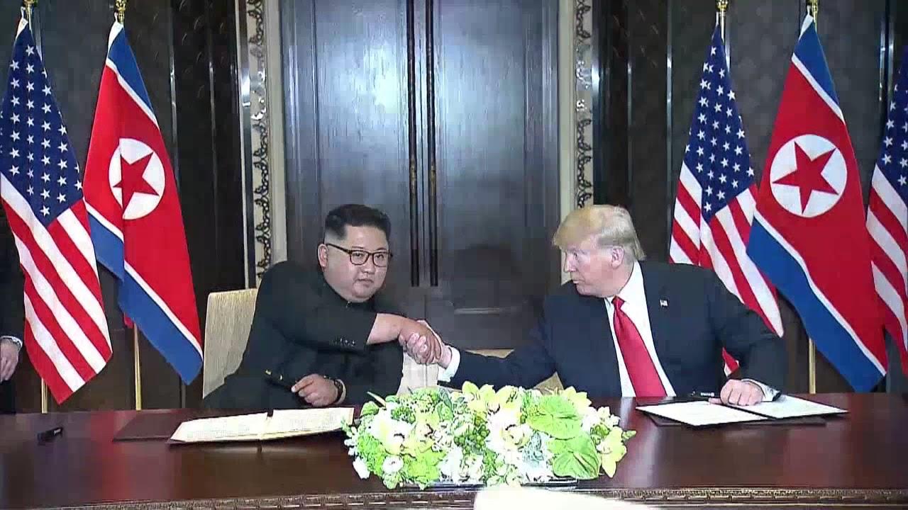 trump y kim firman acuerdo