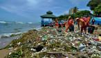 basura en litoral de la capital