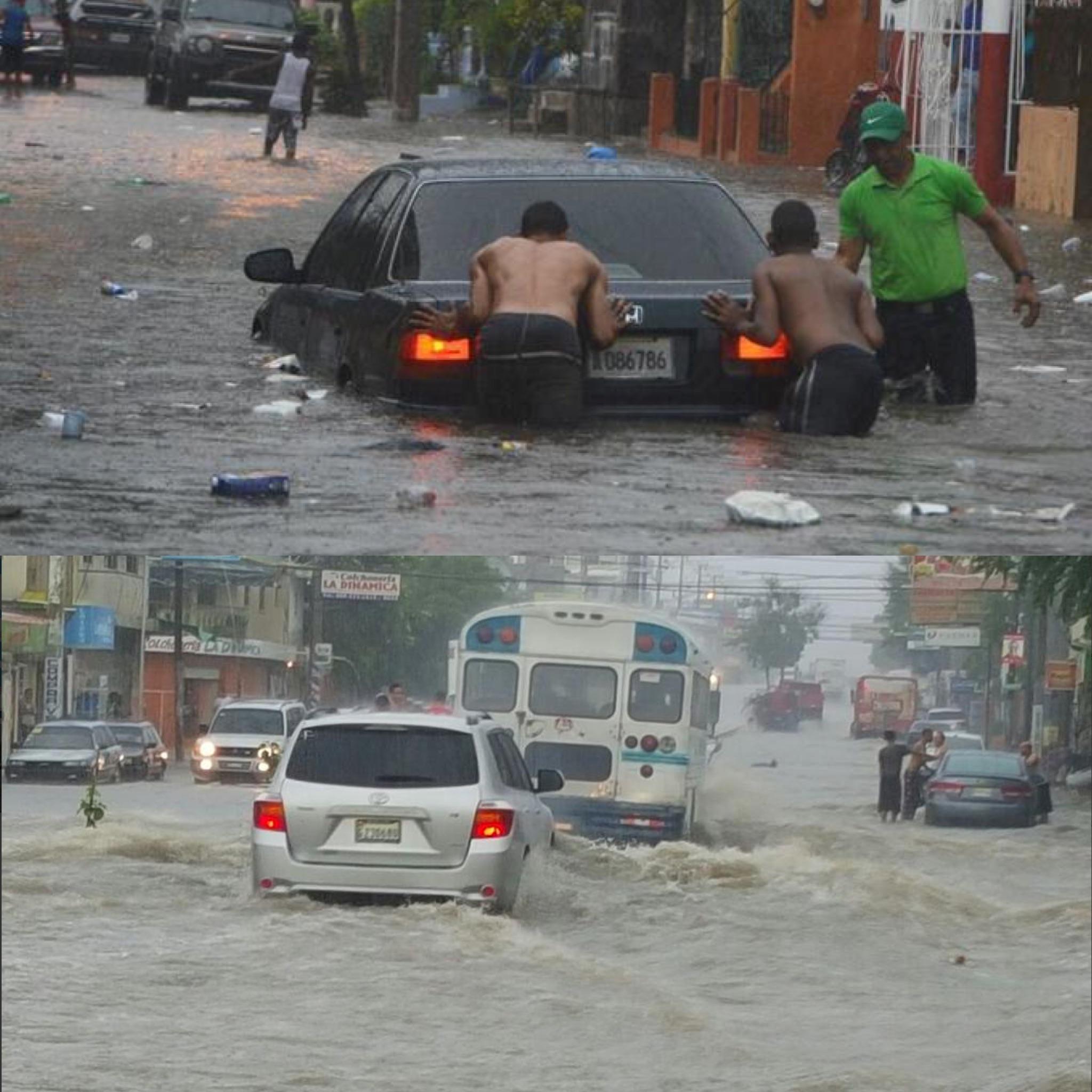 inundaciones en santiago