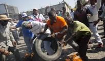 revuelta en haiti