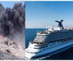crucero y humareda puerto plata