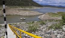 presa sabana yegua con poca agua