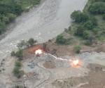 rio contaminado por mineria colombia