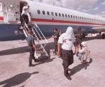 avion con deportados