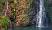 parque valle nuevo chorro agua