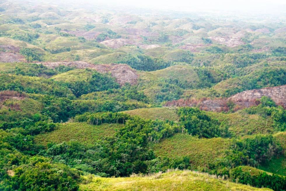 los haitises deforestado