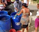 escasez de agua en stgo