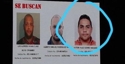 victor hugo gomez autor atentado david ortiz