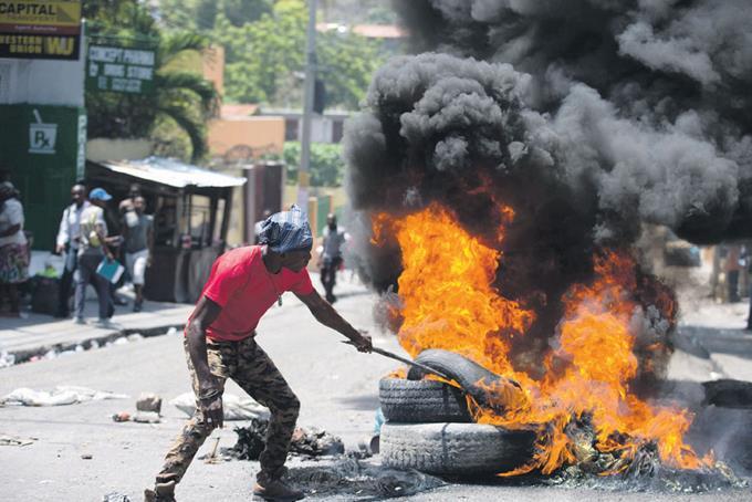 protestas en haiti1
